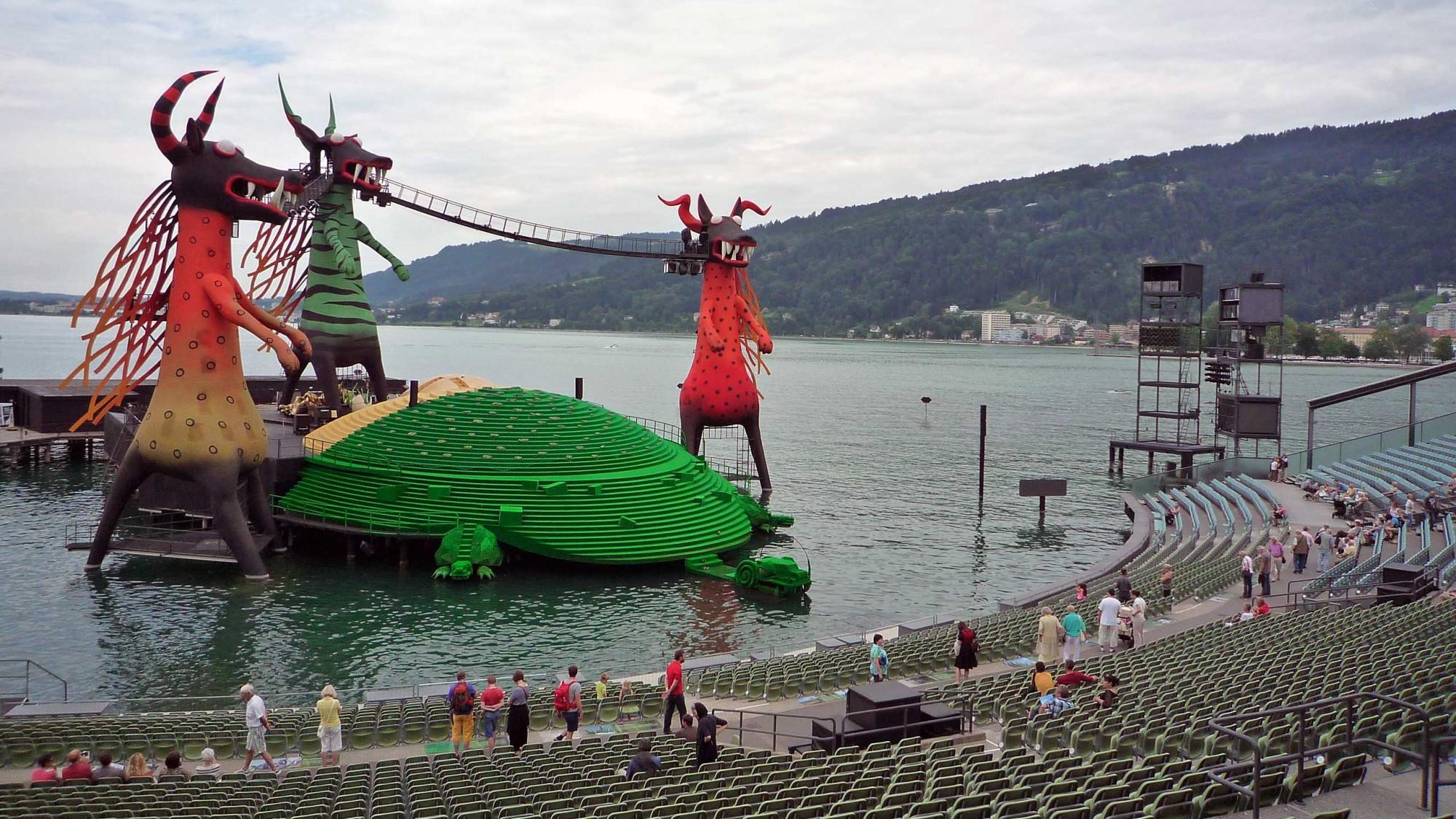 Bregenzer Festspiele 2013. W.A.Mozart: Kouzelná flétna
